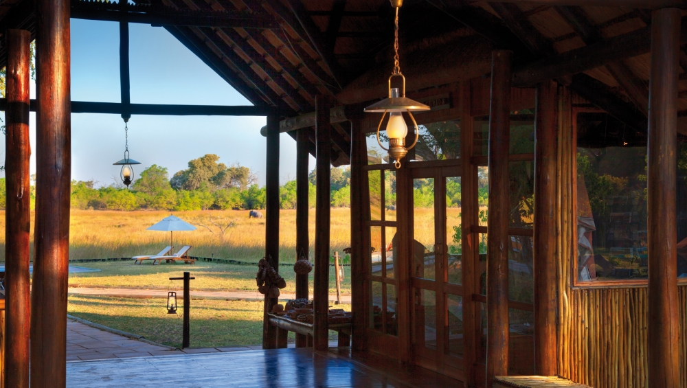 Khwai River Lodge View